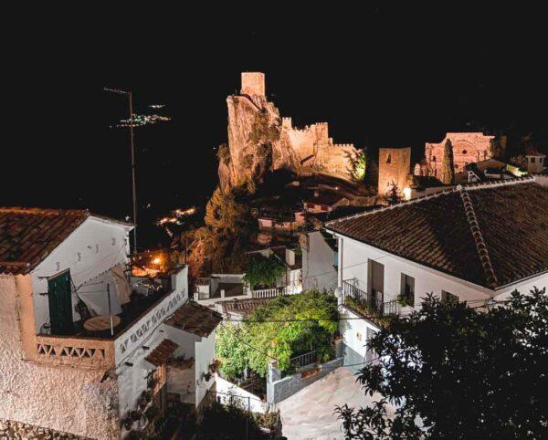 La Iruela en la provincia de Jaén en Andalucía