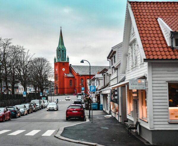 Catedral de Stavanger en Noruega