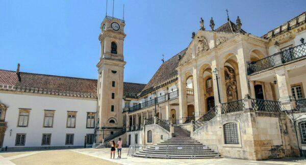 Universidad de Coimbra en Centro de Portugal