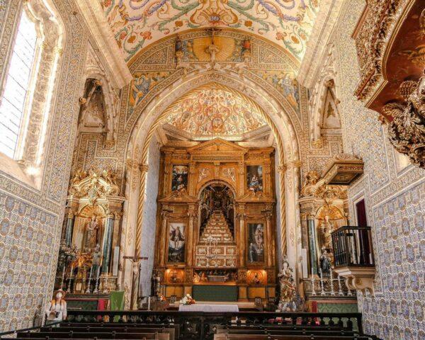 Capilla de San Miguel en la Universidad de Coimbra