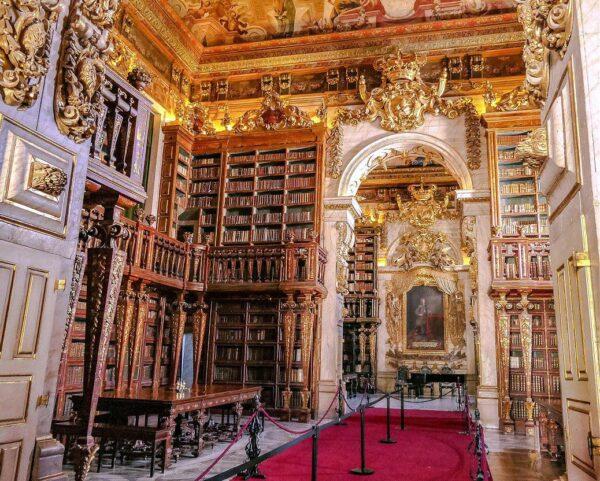 Biblioteca Joanina en la Universidad de Coimbra