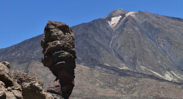 Teide en la isla de Tenerife en Canarias
