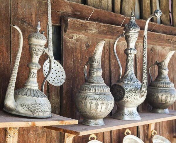 Artesanía en Safranbolu en Turquía