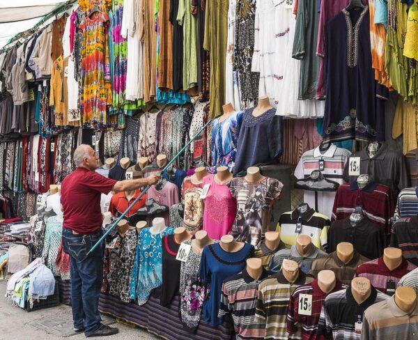 Bazar de Esmirna en Turquía