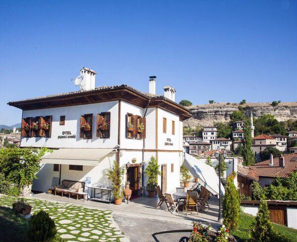 Antiguo konak en Safranbolu en Turquía