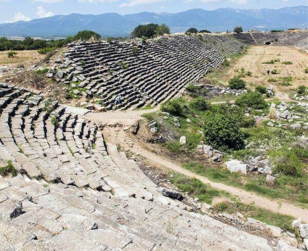 Estadio de Afrodisias en Turquía