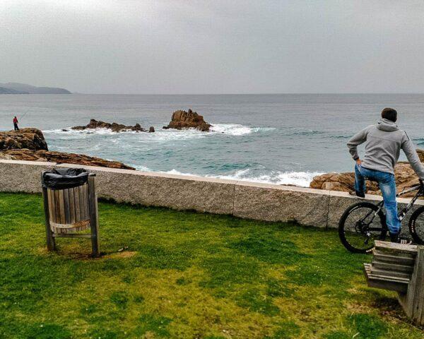 Rincón costero de Arteixo en A Coruña en Galicia