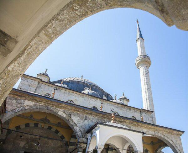 Mezquita Izzet Pasha en Safranbolu en Turquía