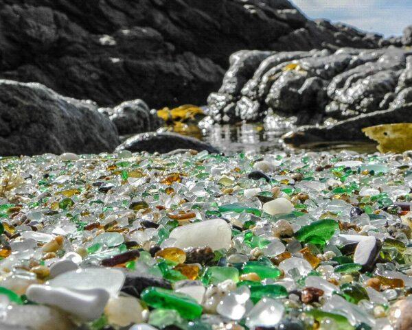 Playa de los Cristales en Laxe en A Coruña @amaianos