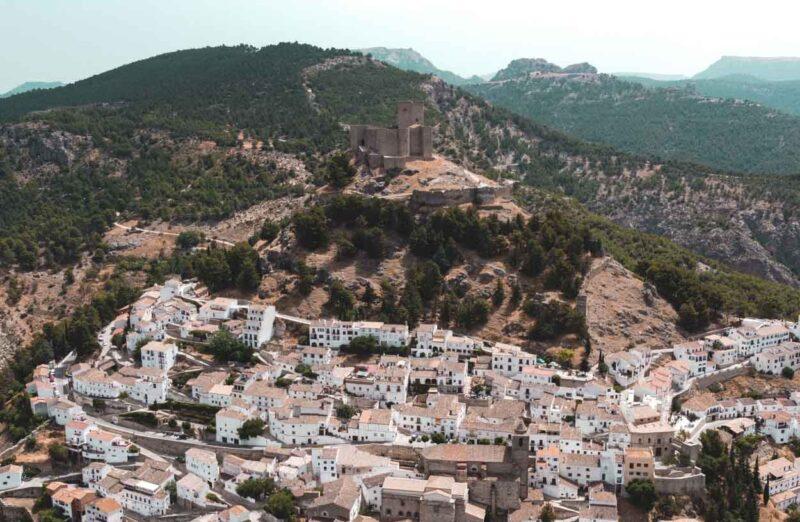 Segura de la Sierra en la provincia de Jaén en Andalucía