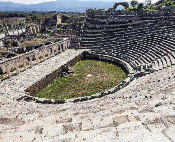 Teatro de Afrodisias en Turquía