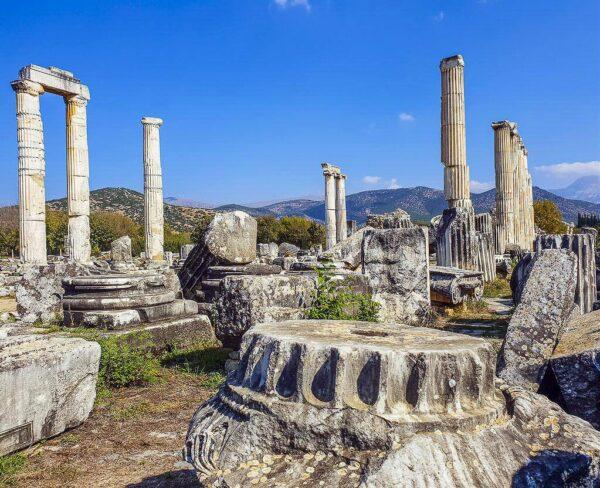Templo de Afrodita en Afrodisias en Turquía