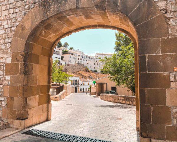 Segura de la Sierra en provincia de Jaén en Andalucía