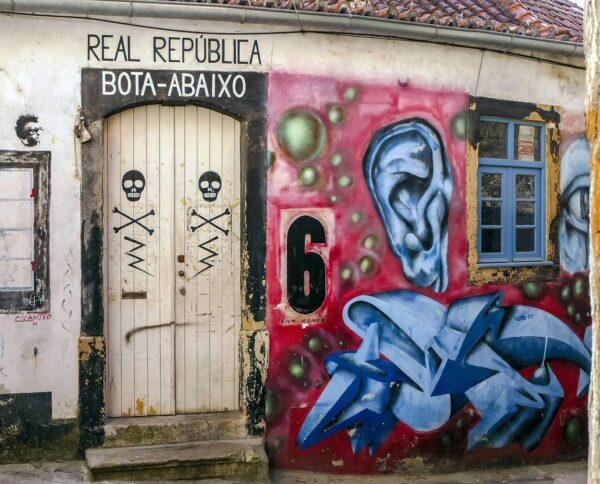 República en Coimbra en Portugal
