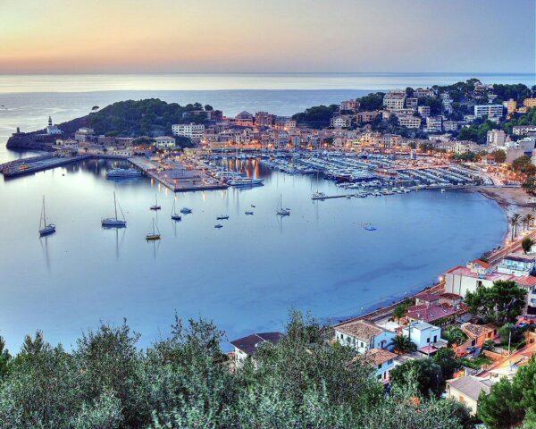 Soller en la isla de Mallorca
