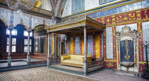 Palacio Topkapi en Estambul en Turquia