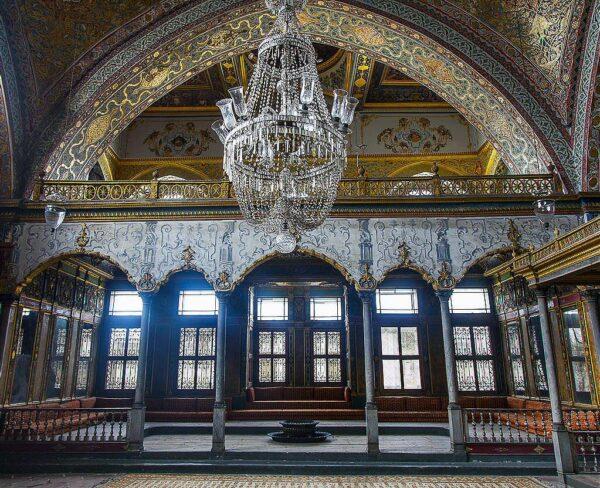 Sala en el Harén del Palacio Topkapi en Estambul