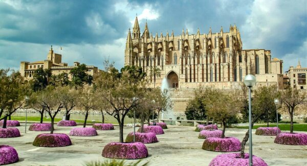 Catedral Seu de Palma en la isla de Mallorca