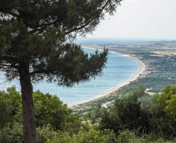 Bahía de Suvla en Turquía