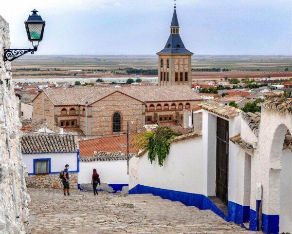 Barrio del Albaicín en Campo de Criptana