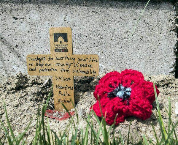 Cementerio del Pino Solitario en Galípoli en Turquía