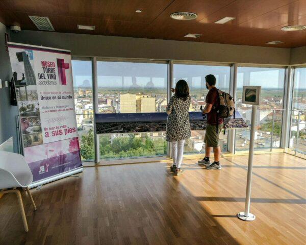 Mirador del Museo Torre del Vino en Socuéllamos