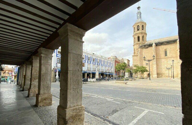 Plaza de España de Valdepeñas en Ciudad Real