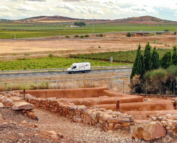 Ciudad Íbera Cerro de las Cabezas en Valdepeñas