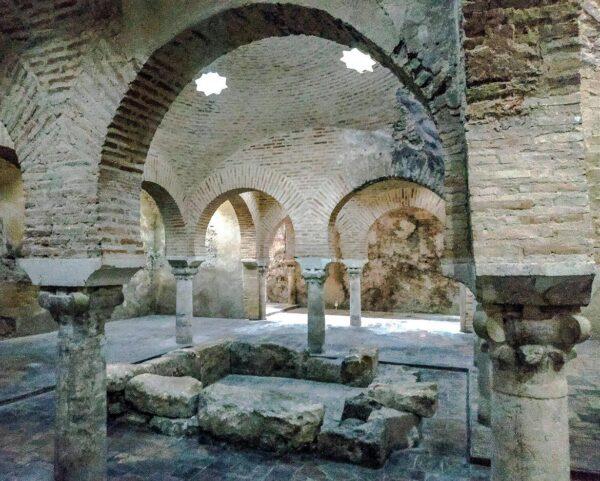 Baños Árabes en el Palacio de Villardompardo de Jaén
