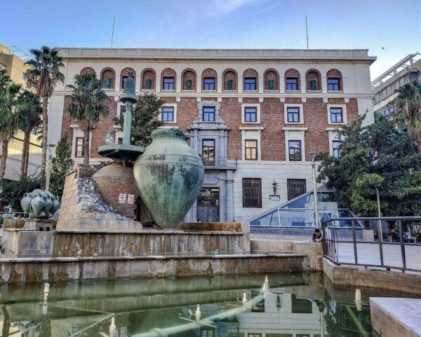 Plaza de la Constitución en Jaén