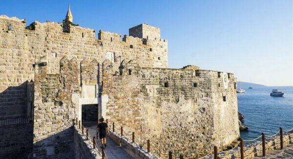 Castillo de San Pedro en Bodrum en Turquía