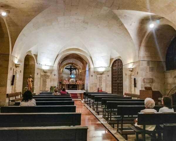 Cripta de la Catedral de la Asunción en Jaén