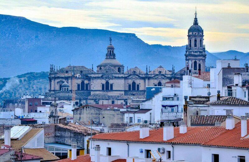 Jaén desde Palacio de Villardompardo