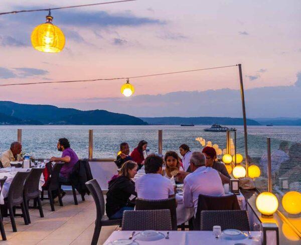 Çanakkale en la costa turca del mar Egeo