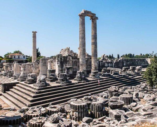 Templo de Apolo en Didima en Turquía
