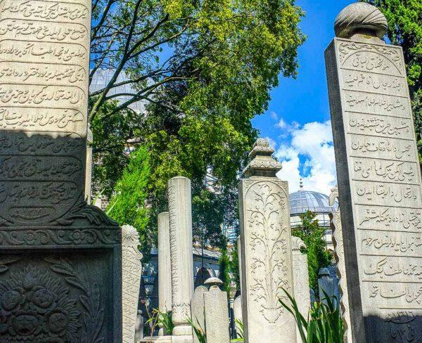 Cementerio de la Mezquita de Solimán en Estambul