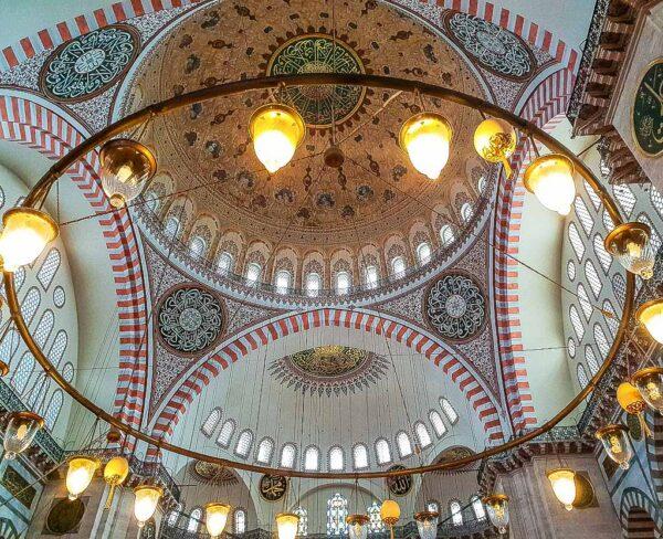 Cúpula de la Mezquita de Solimán en Estambul