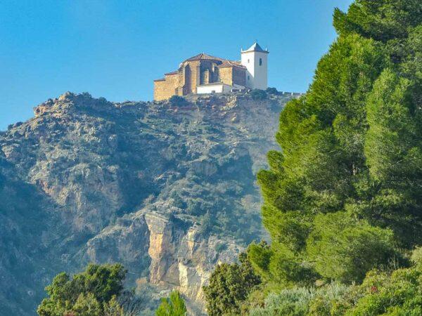 Santuario del Cristo de la Vida en Villa de Ves en Albacete