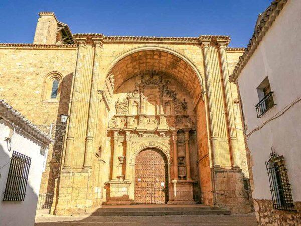 Iglesia de Santa María en Alarcón en Cuenca