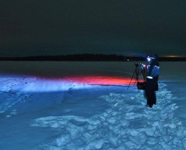 Tour fotográfico para cazar auroras boreales en Rovaniemi