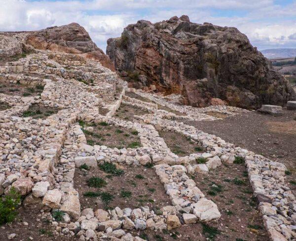 Recinto arqueológico de Hatusa en Turquía