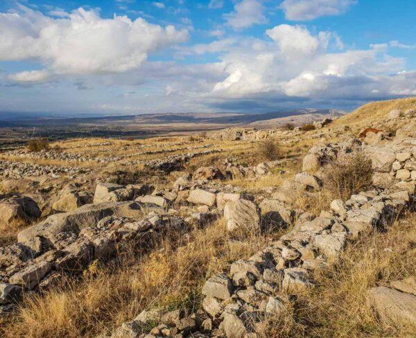 Gran Fortaleza de Hatusa en Turquía