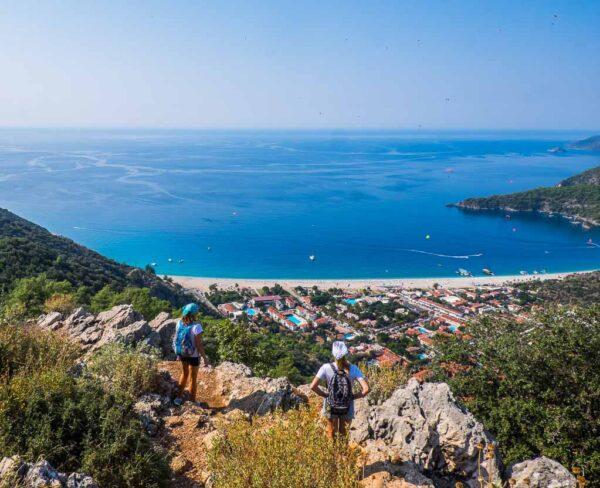Ölüdeniz en la costa Licia de Turquía
