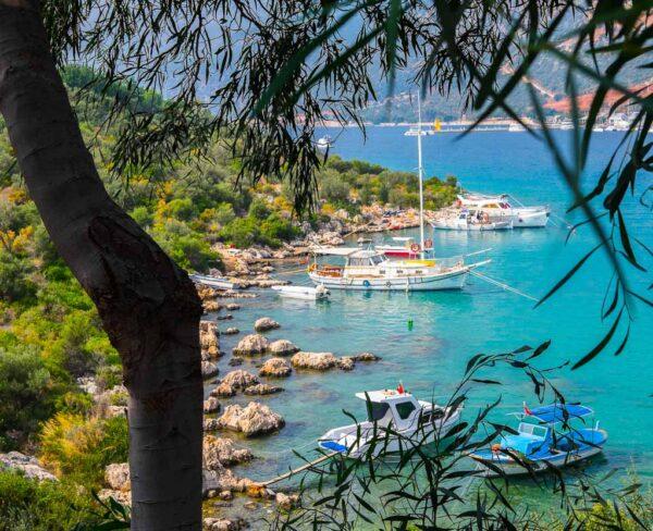 Kas en la Riviera de Turquía