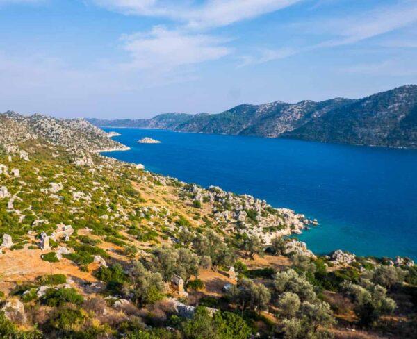 Kekova en la Riviera de Turquía