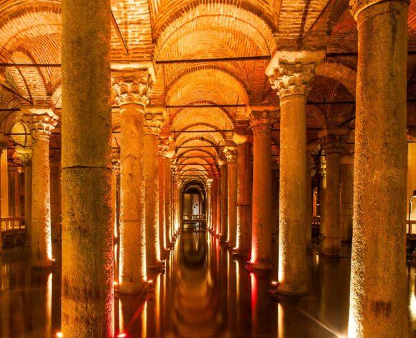 Cisterna Subterránea en Estambul