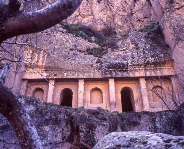 Valle de Ilhara en Capadocia en Turquía