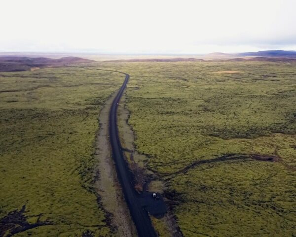 Desiertos de musgo y lava en Islandia