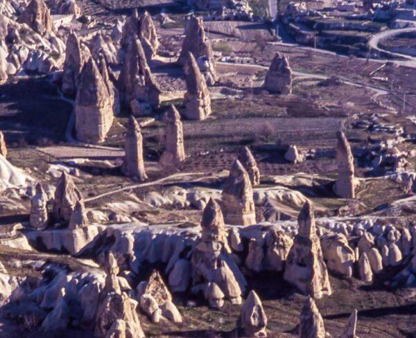 Paisaje de Capadocia en Turquía