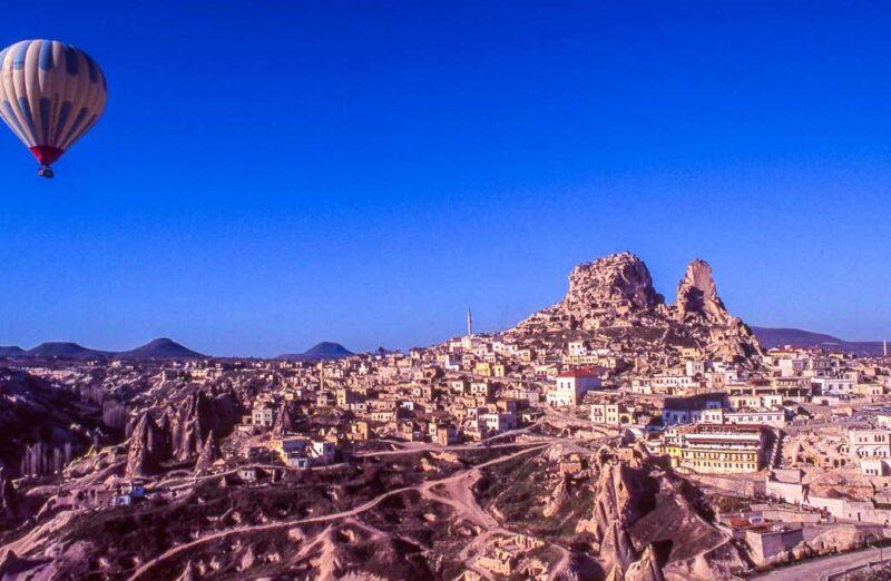 Excursión en globo en Capadocia en Turquía